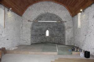 plancher de l'abside et du choeur - par Charly